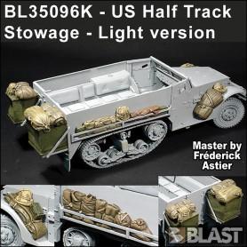 BL35096K - US HALF TRACK STOWAGE - LIGTH VERSION