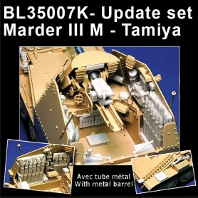 BL35007K - SET AMELIORATION MARDER III M (metal barrel not included ) RT-07/19