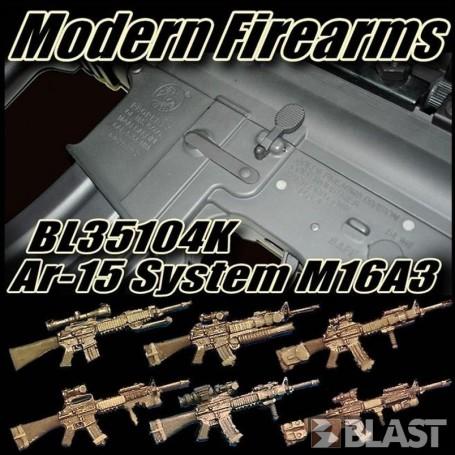 BL35104K - AR-15 SYSTEM - M16A3 RAS OIF - 6 RIFLES