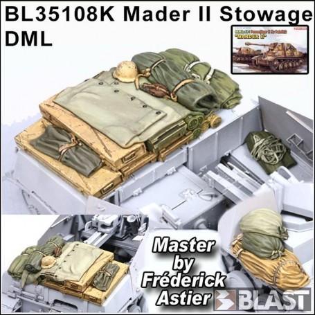 BL35108K - STOWAGE SET FOR MARDER II - DML