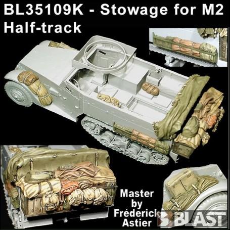 BL35109K - STOWAGE SET US M2 HALF-TRACK - DML