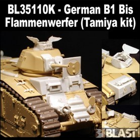 BL35110K - CONVERSION - GERMAN  B1 BIS FLAMMENWERFER