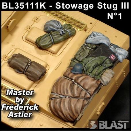 BL35111K - STOWAGE SET STUG III - VOL 1
