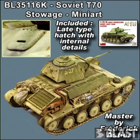 BL35116K - STOWAGE SET FOR T70 - MINIART