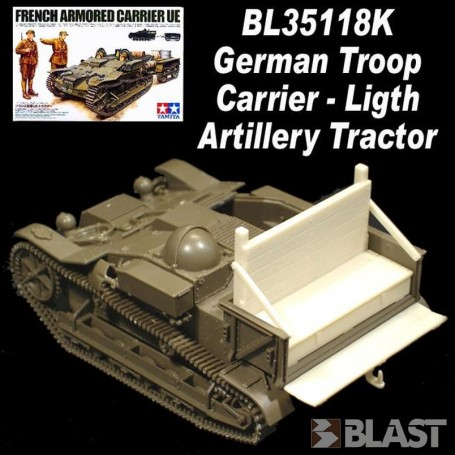 BL35118K - GERMAN TROOP CARRIER LIGHT ARTILLERY TRACTOR