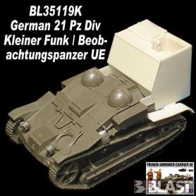 BL35119K - GERMAN 21 PZ DIV KLEINER FUNK BEOBACHTUNGSPANZER UE