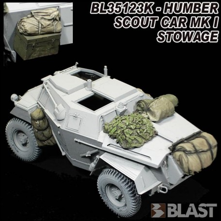 BL35123K - HUMBER SCOUT CAR MK I  STOWAGE - BRONCO