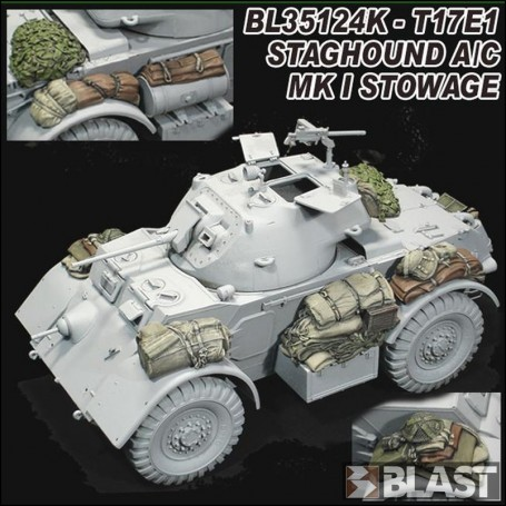 BL35124K - T17E1 STAGHOUND A/C MK I STOWAGE - BRONCO