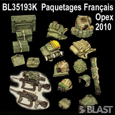 BL35193K - FRANCE PAQUETAGES OPEX