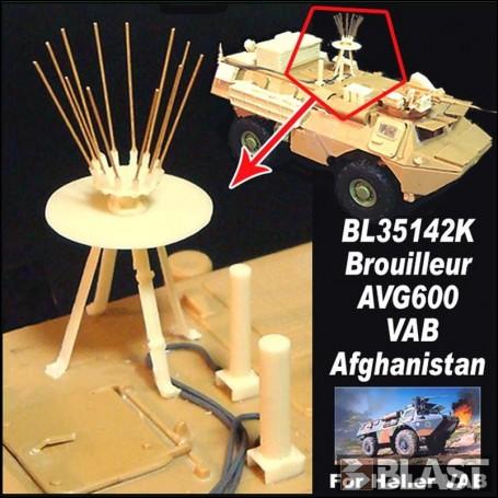 BL35142K - VAB BROUILLEUR ANTI IED  AVG600- AFGHANISTAN