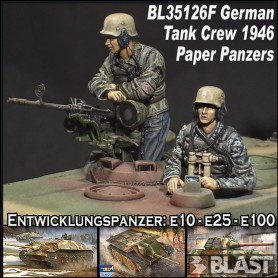 BL35126F - GERMAN TANK CREW 46 / E10-E25- E100-GUNTHER*