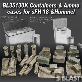 BL35130K - CONTAINERS AND AMMO CASES FOR SFH18 AND HUMMEL - LIMITED EDITION