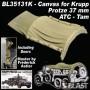 BL35131K - CANVAS FOR KRUPP PROTZE 37MM ATC / TAM
