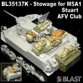 BL35137K - STOWAGE FOR M5A1 STUART - AFV