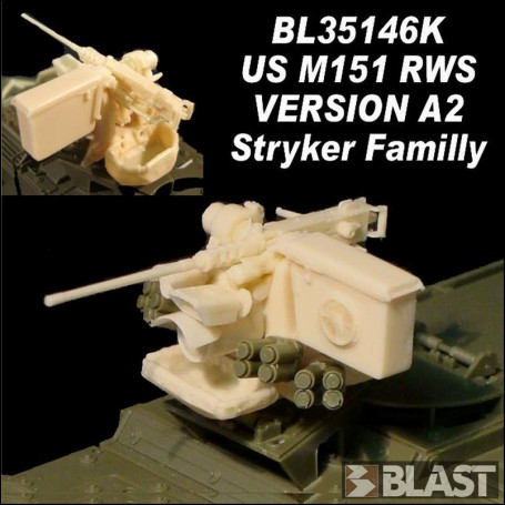 BL35146K  US M151 RWS  CROWS VERSION A2  STRYKER FAMILLY  RT 06/18