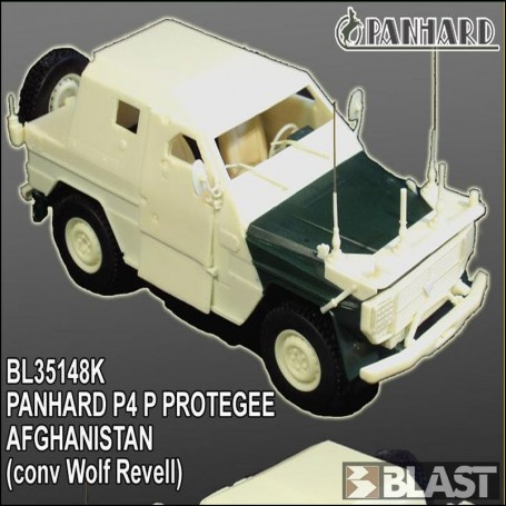 BL35148K - PANHARD P4 P PROTEGEE AFGHNANISTAN - CONV WOLF REVELL