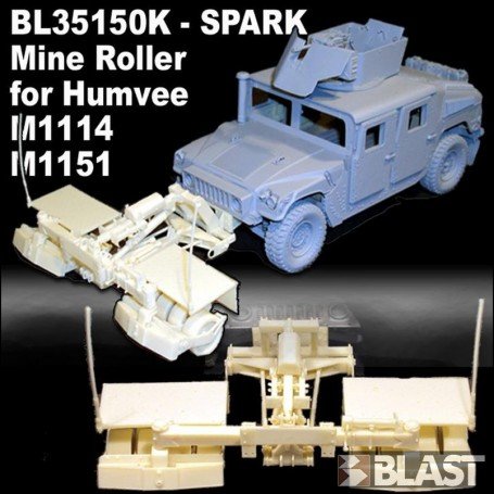 BL35150K - US SPARK MINE ROLLER FOR HUMVEE M1114 - M1151