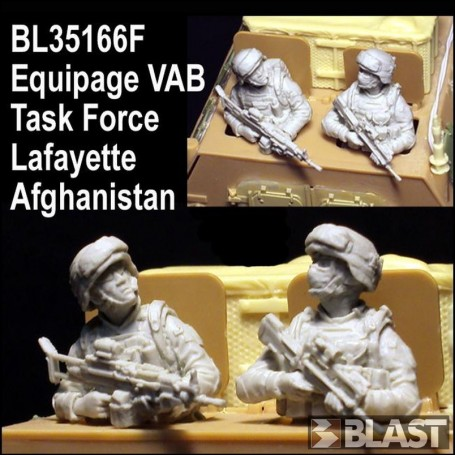 BL35166F - EQUIPAGE VAB TASK FORCE LAFAYETTE - AFGHANISTAN*