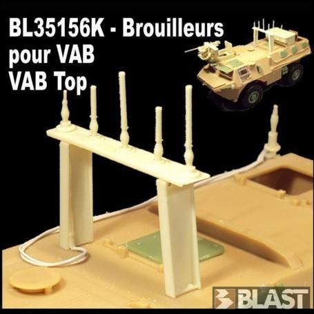 BL35156K - VAB + VAB TOP - BROUILLEUR ANTI IED AFGHANISTAN