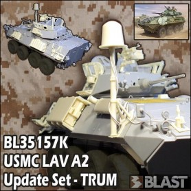 BL35157K - USMC LAV A2 IRAQ AND AFGHANISTAN UPDATE SET - TRUM