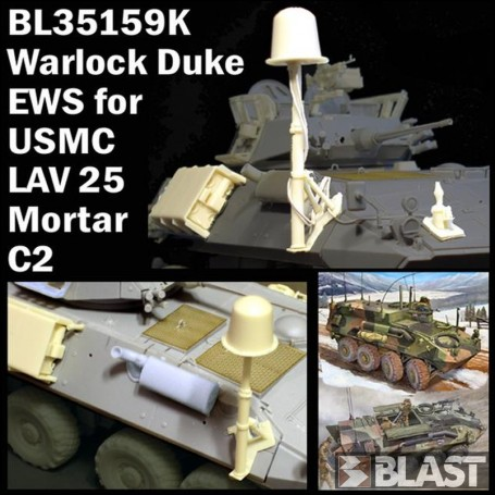 BL35159K - US MC WARLOCK DUKE EWS FOR LAV25 - MORTAR - C2