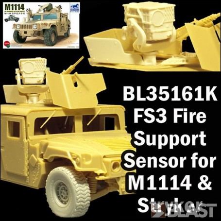 BL35161K - US FS3 FIRE SUPPORT SENSOR FOR M1114 AND STRYKER