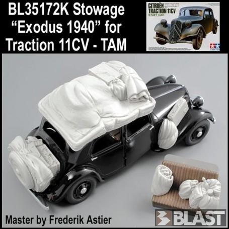 BL35172K - PAQUETAGES POUR 11CV TRACTION
