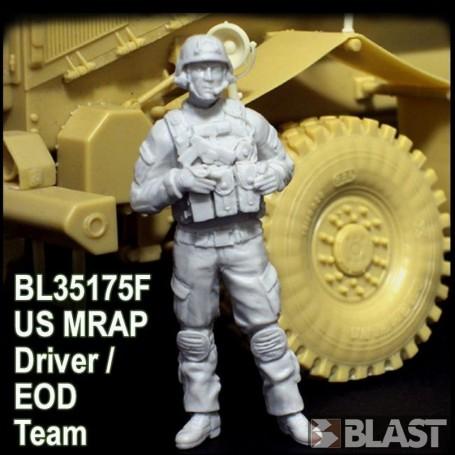 BL35175F - US MRAP DRIVER EOD TEAM - AFGHANISTAN*