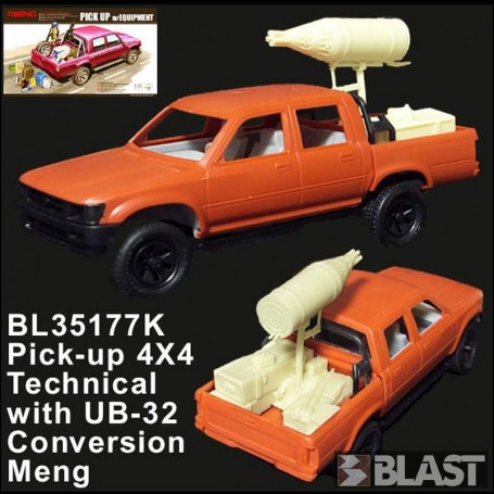 BL35177K - PICK-UP 4X4 TECHNICAL WITH UB-32 ROCKET LAUNCHER