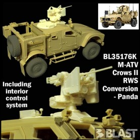 BL35176K - US M-ATV CROWS II RWS - CONVERSION PANDA - RT 06/18