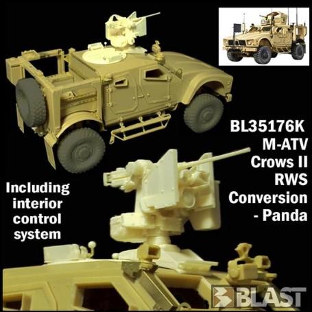 BL35176K - US M-ATV CROWS II RWS - CONVERSION PANDA - RT 06/18