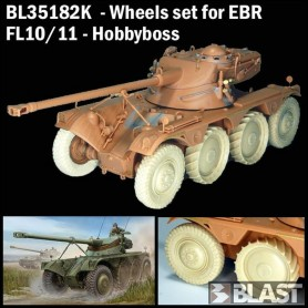 BL35182K - WHEELS EBR TURRET FL10 AND FL11 - HOBBYBOSS - LIMITED EDITION 2018