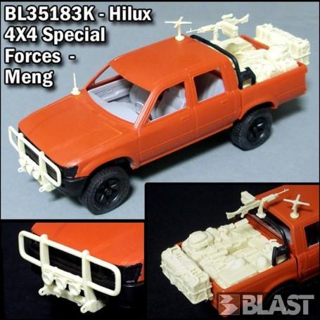 BL35183K - HILUX 4X4 SPECIAL FORCES CONVERSION - MENG