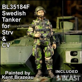 BL35184F - SWEDISH TANKER FOR STRV AND CV - INCLUDING 2 DIFFERENT HEADS