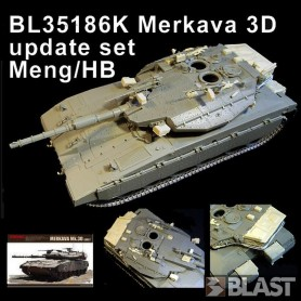 BL35186K - IDF MERKAVA 3D UPDATE SET - MENG - HB
