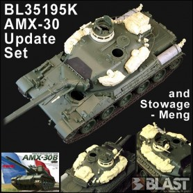 BL35195K - FRENCH AMX-30 UPDATE SET AND STOWAGE - MENG