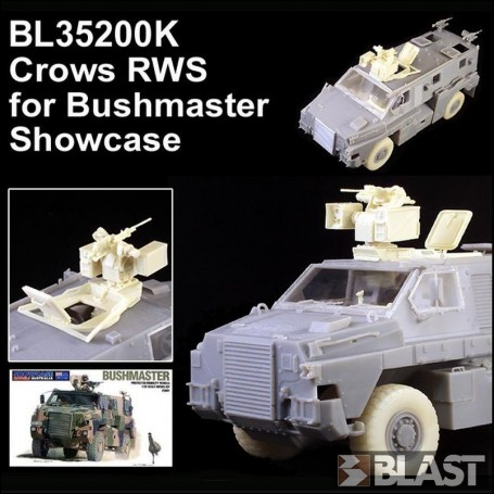 BL35200K - AUSTRALIAN CROWS RWS FOR BUSHMASTER - SMA