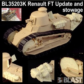 BL35203K - FRENCH RENAULT FT UPDATE SET AND STOWAGE  - MENG