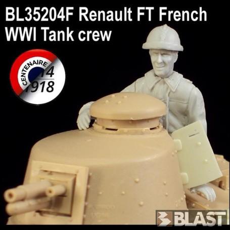 BL35204F - TANKISTE FRANCAIS POUR FT-17 - WWI*