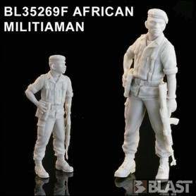 BL35269F - AFRICAN MILITIAMAN