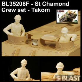 BL35208F - FRENCH ST CHAMOND CREW SET - TAKOM