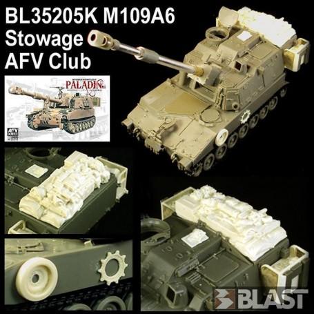 BL35205K - US M109A6 PALADIN STOWAGE - AFV CLUB