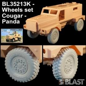 BL35213K - WHEELS SET FOR COUGAR MRAP - PANDA
