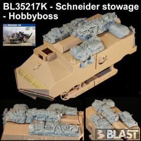 BL35217K - SCHNEIDER STOWAGE - HOBBYBOSS