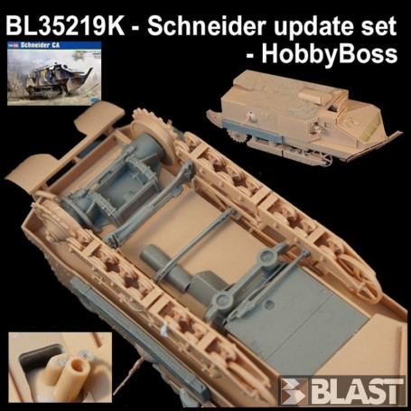 BL35219K - FRENCH SCHNEIDER UPDATE SET - HOBBYBOSS