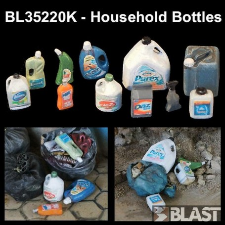 BL35220K - HOUSEHOLD BOTTLES