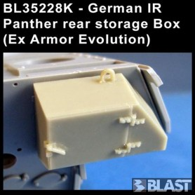BL35228K - GERMAN IR PANTHER REAR STOWAGE BOX ( EX AE )