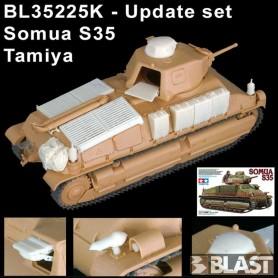 BL35225K - UPDATE SET SOMUA S35 - TAM -  RTL 12/15