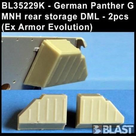 BL35229K - GERMAN PANTHER G MNH REAR STOWAGE - 2 PCS ( EX AE )