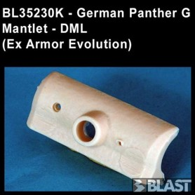 BL35230K - GERMAN PANTHER G MANTLET- ( EX AE )